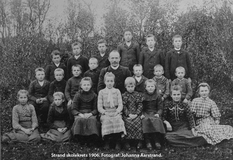 Strand skolekrets 1906